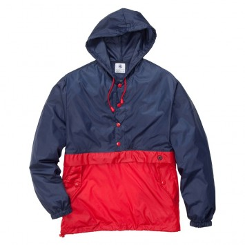 Labrador Pullover - Red and Navy